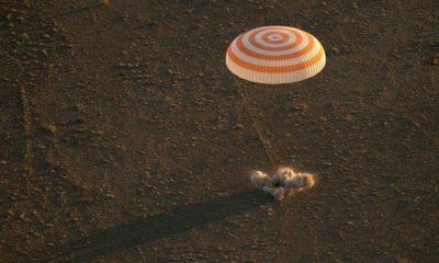 Expedition 48 Uzay Ekibi Dünyaya Döndü