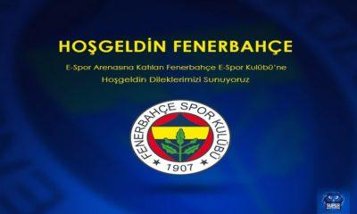 1907 Fenerbahçe Derneği E-Spor'da!
