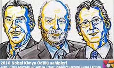 2016 Nobel Kimya Ödülünü Mikro Makine yapan 3 Profesör paylaştı
