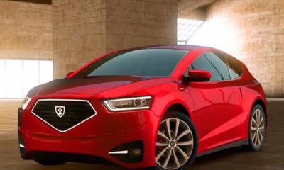 KKTC'nin ilk yerli otomobili Günsel tanıtıldı