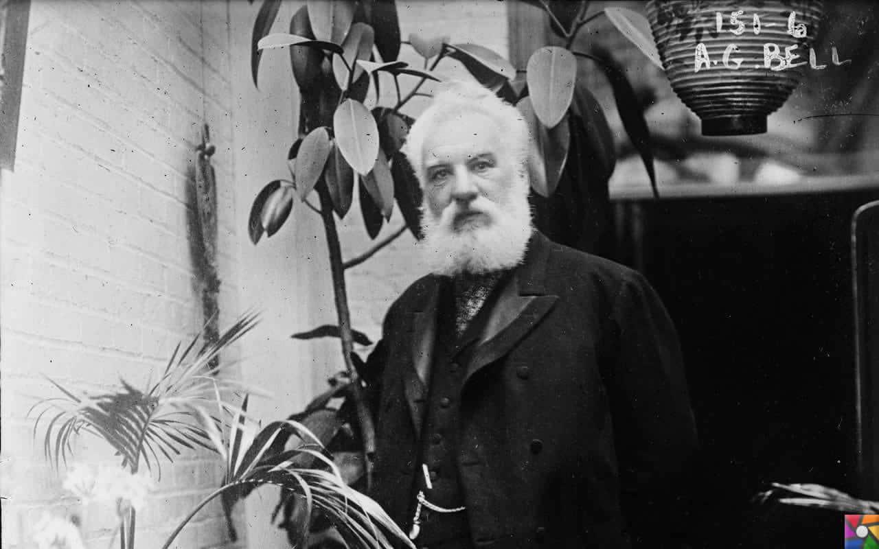 Alexander Graham Bell Kimdir? | İşitme okulundaki en eski fotoğraflarından biri