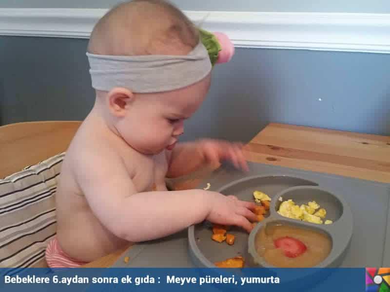 Bebeklere ek gıda verirken nelere dikkat etmeliyiz? | 6.aydan sonra anne sütüne devam beraberinde ekgıdalar