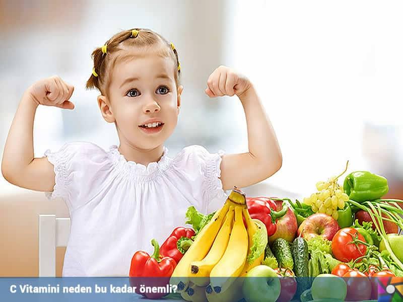 C Vitamini neden bu kadar önemli? C Vitamini Faydaları