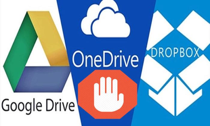 Türkiye'de Google Drive ve Dropbox'tan Sonra One Drive'a Da Erişim Engeli