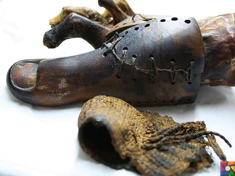 Mumyalama neden ve nasıl yapılırdı? | Eksik uzuv protezle tamamlanmış