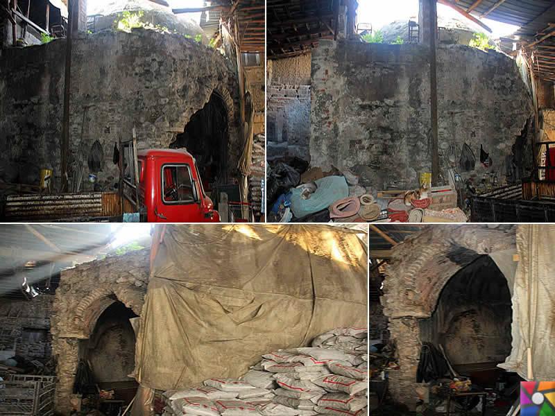 Tarihi Osmanlı Hamamı İzmir'de manav olarak hizmet ediyor! | 2014 yılındada kömür deposuydu! kanıtları.