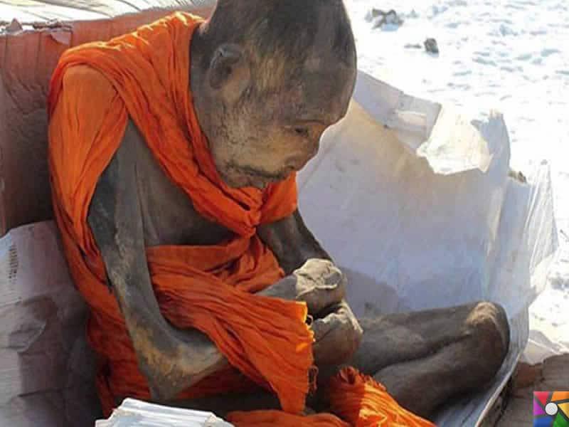 Tarihte bulunmuş 5 farklı mumyalama şekli   Japonya, Çin ve Hindistan'daki Budist rahiplerin Mumyaları