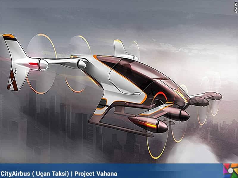 Uçan arabalar geliyor! | Project Vahana'ın uçan taksisi CityAirbus olacak bu model
