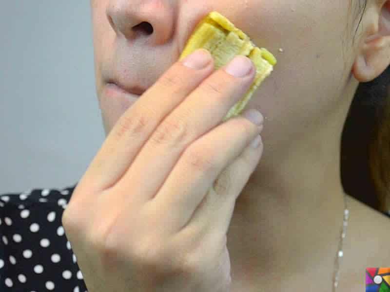 Yüz temizliğine doğal çözüm: Muz kabukları | doğal peeling