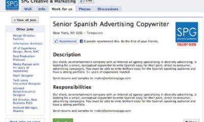 Facebook'a İş İlanı Yayınlama Özelliği Geliyor