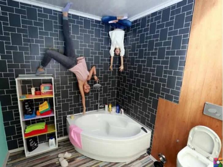 Antalya'daki Ters Eve gittiniz mi? Türkiye'de bir ilk! | Ters banyo