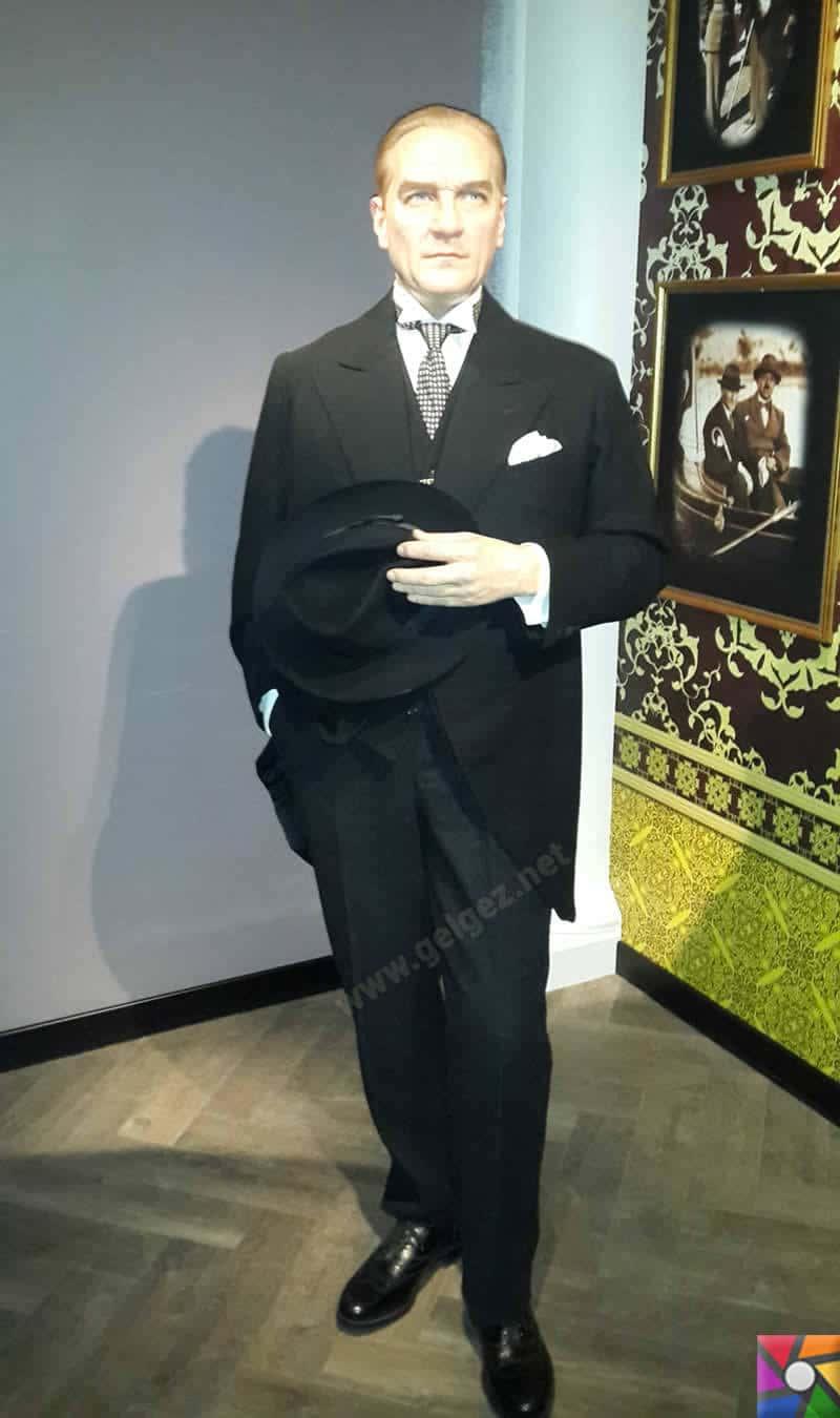 Dünyaca ünlü balmumu müzesi Madame Tussauds Türkiye'de açıldı! | Mustafa Kemal Atatürk