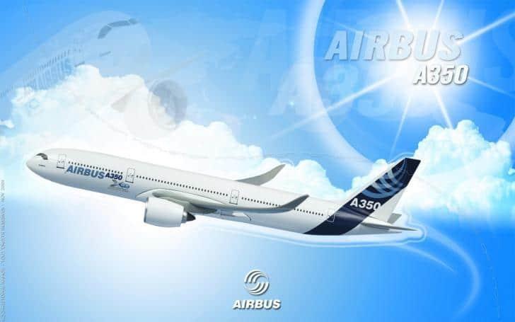Dünyanın en güçlü uçağı Airbus A350-1000 ilk uçuşunu yaptı! | En güçlüsü ve en genişi