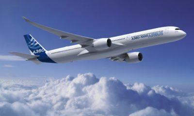 Dünyanın en güçlü uçağı Airbus A350-1000 ilk uçuşunu yaptı!