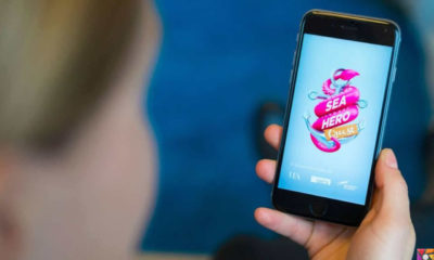 Erken bunamayı tespit edebilen mobil oyunu: Sea Hero Quest