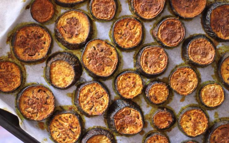 Fit kalmaya çalışanlara nefis fırında zerdeçallı patlıcan tarifi | 170 kalorilik sağlıklı antoksidanlı zerdeçallı patlıcan