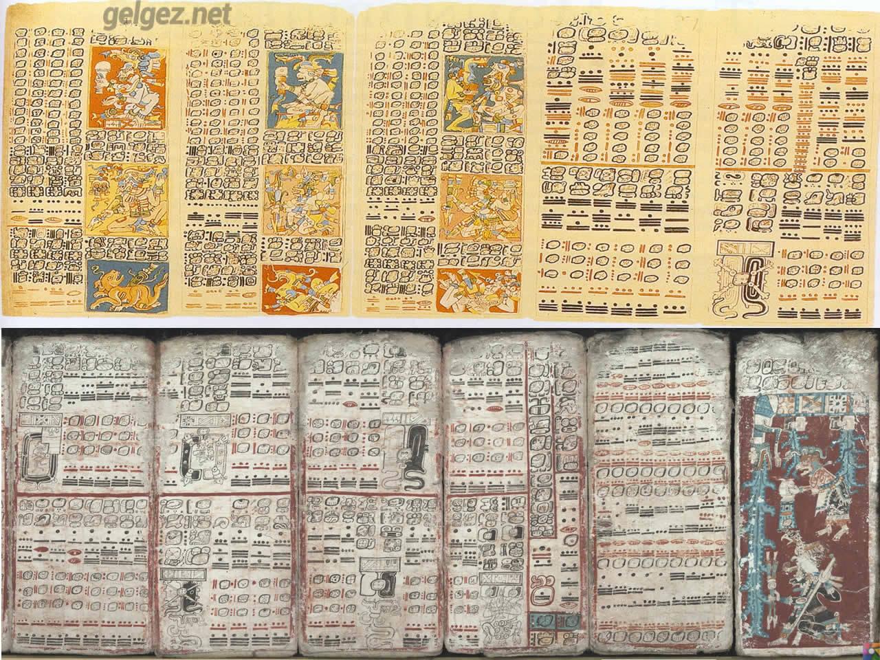 Mayalar 1300 sene önce gezegenleri izliyorlardı! | Dresden Codex
