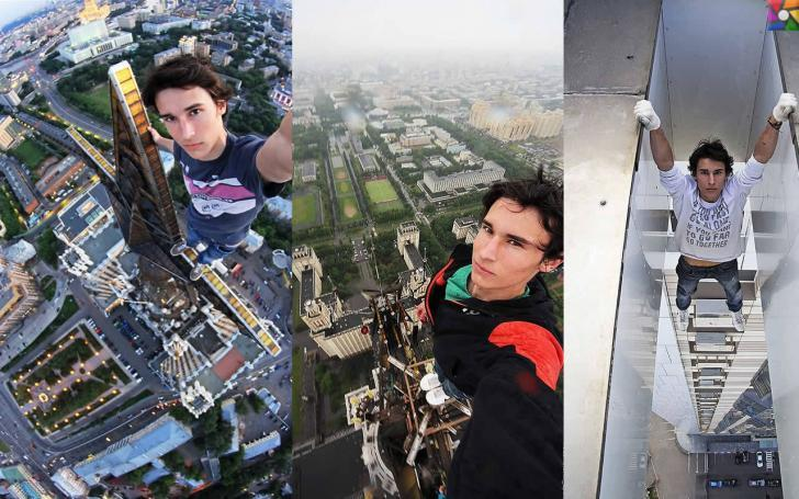 Selfie çekenlerde ölüm sayısı neden artıyor? | Rus Kirill Oreşkin, korkusuz lakabıyla bir fenomen!!!