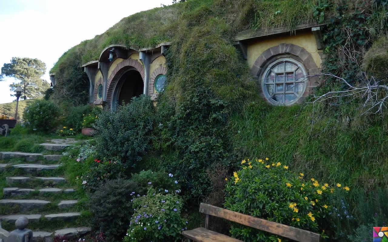Uzak bir yerlere gidelim Uzun Bulutlar Ülkesine: Yeni Zelenda | Hobbitlerin evleri