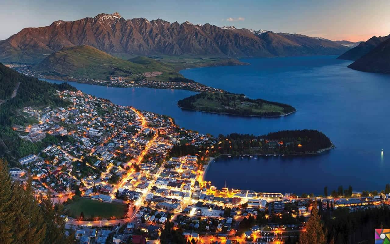 Uzak bir yerlere gidelim Uzun Bulutlar Ülkesine: Yeni Zelenda | Auckland gece fotoğrafı