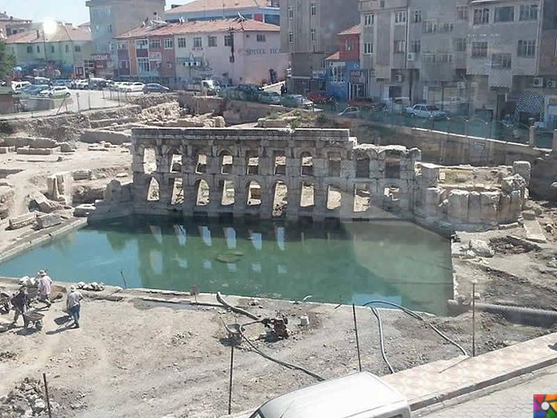 Yozgat'ın Tarihi Roma Hamamı için UNESCO'ya başvurulacak | Kazı çalışmaları devam ederken
