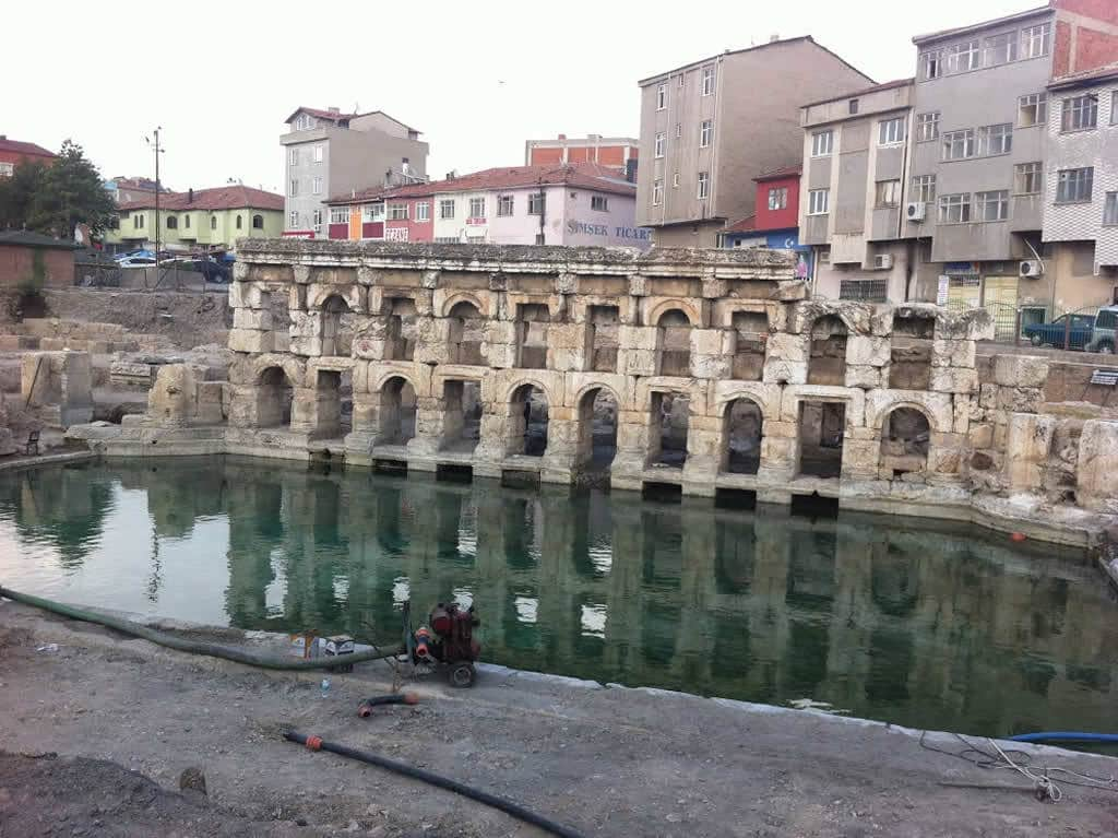 Yozgat'ın Tarihi Roma Hamamı için UNESCO'ya başvurulacak | Yeni halinde havuz bölümü ortaya çıkarıldı