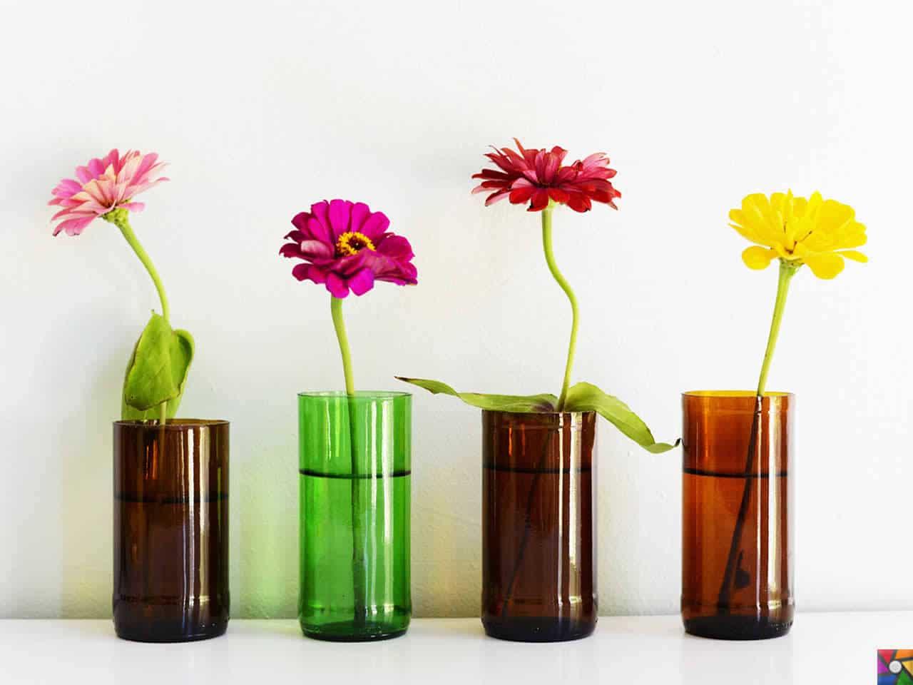 Что можно сделать из вазы для цветов фото