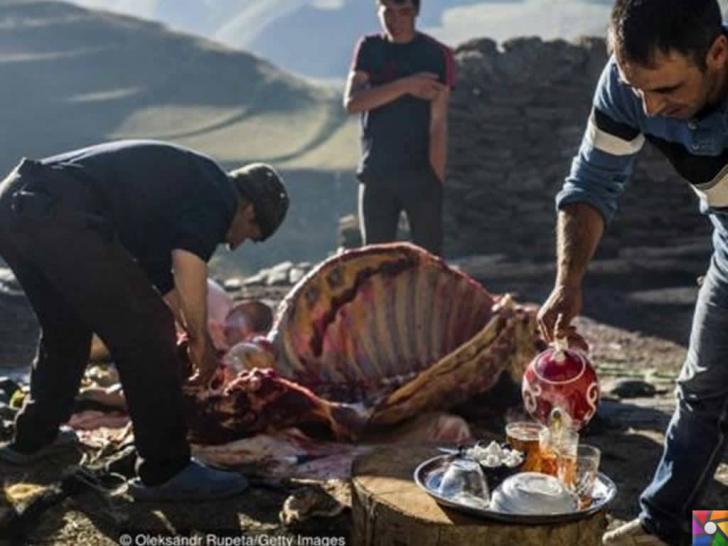 Kendilerine Nuh'un torunları diyen Kınalık Köyü insanları | Özel günlerde Kurban Kesiyorlar ve Çay içmeyi çok seviyorlar
