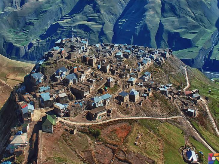 Kendilerine Nuh'un torunları diyen Kınalık Köyü insanları | Kınalık Kuş Bakışı