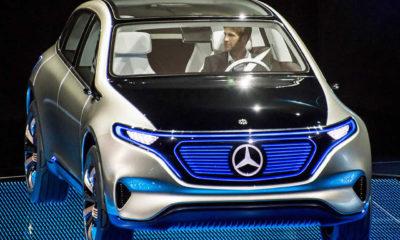 Mercedes'in elektrikli otomobilde markası Generation EQ