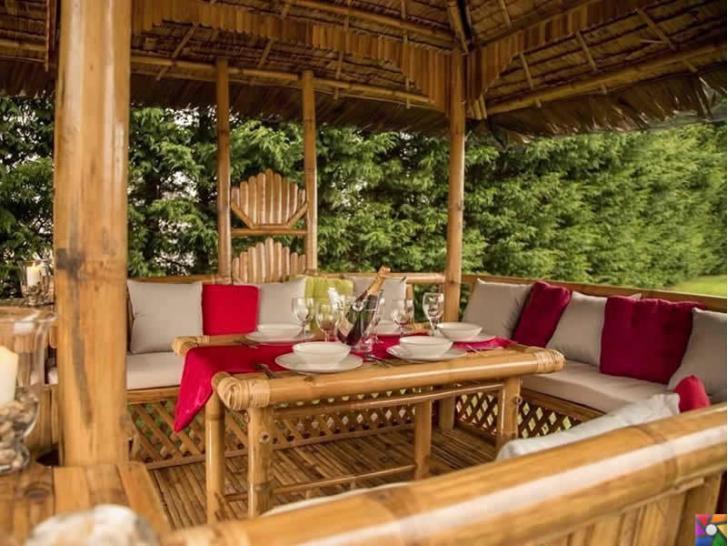 Rattan ve Bambu ağacından yapılmış bahçe mobilyaları alırken nelere dikkat etmeliyiz? | Bambudan çardak