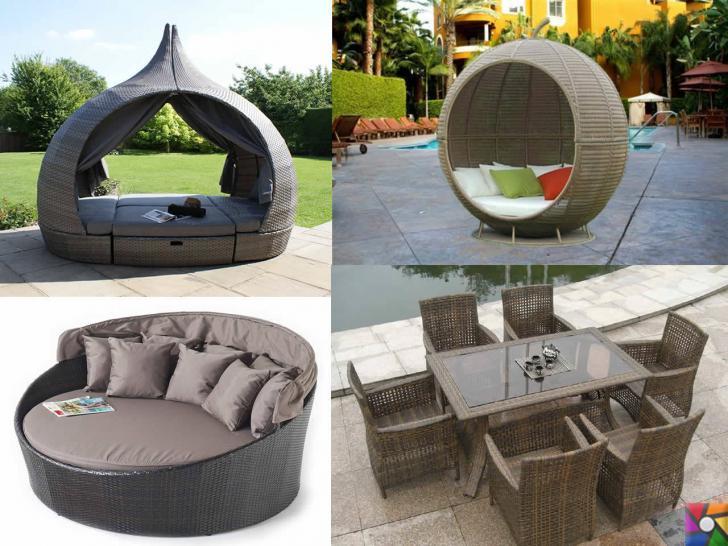 Rattan ve Bambu ağacından yapılmış bahçe mobilyaları alırken nelere dikkat etmeliyiz? | Rattanın esnek dokusu ile harika tasarımlar