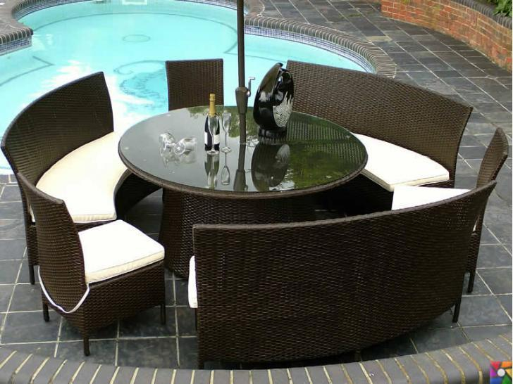 Rattan ve Bambu ağacından yapılmış bahçe mobilyaları alırken nelere dikkat etmeliyiz? | Rattan bambudan daha esnek olduğu için harika tasarımlar çıkmakta
