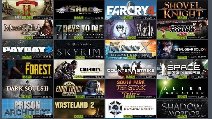 Steam Kış İndirimlerinde Mutlaka Alınması Gereken 5 Oyun!