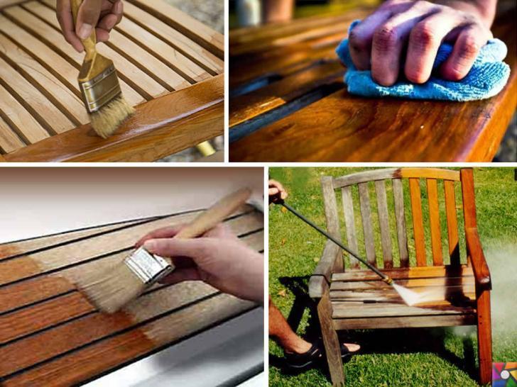 Tik ağacı ile yapılmış bahçe mobilyaları alırken nelere dikkat etmeliyiz? | tik ağaçlı bahçe oturma grubu bakımı yapılmadığında gri rengini alır ama tik yağı ile cilalanırsa eski haline döner
