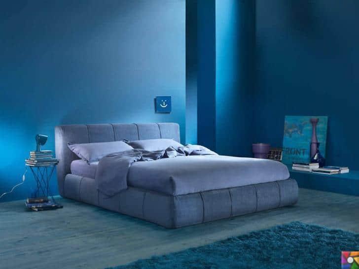 Yatak odasını kaliteli uyku için tasarlamanın 7 önemli ipucu | Duvar rengini mavi seçin