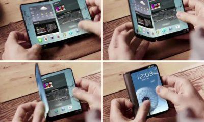 Katlanabilir Telefonlar Önümüzdeki Yıl Geliyor!