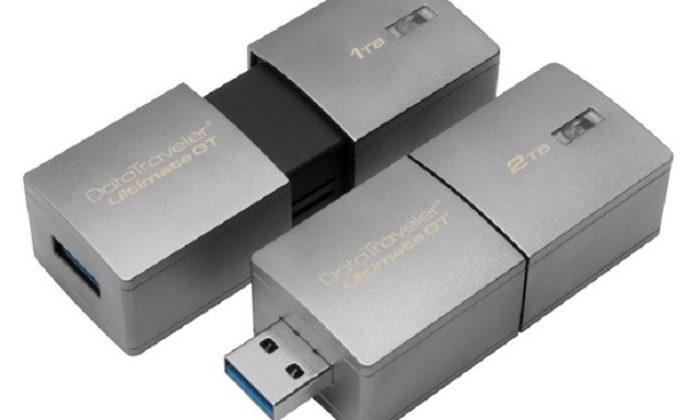 Kingston'dan Terabyte Boyutunda USB Bellekler Geliyor!