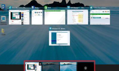 Windows 10 Üzerinde Çoklu Masaüstü Özelliği