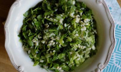 Arapların meşhur salatası Tabule nasıl yapılır?