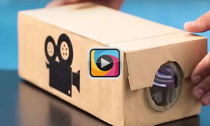 Ayakkabı Kutusundan akıllı telefonlar ile projeksiyon cihazı nasıl yapılır?
