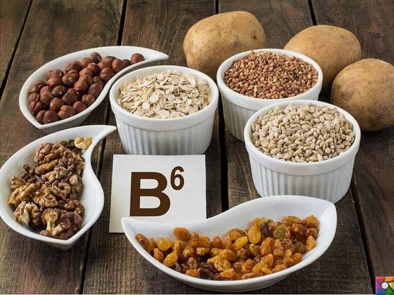 B6 Vitamini Eksikliği Belirtileri ve Beslenme Tedavisi
