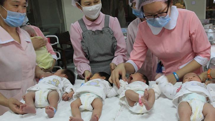 Çin'de tek çocuk kuralı kalktı doğumlarda patlama oldu!