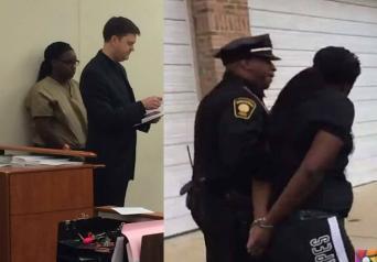 Çocuğunu koli bandı ile bağlayıp ev işini yapan Anne Tutuklandı!