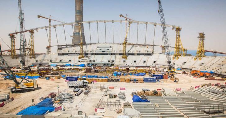 2022 FIFA Dünya Kupası ev sahibi Katar haftada 500 milyon dolar harcıyor!