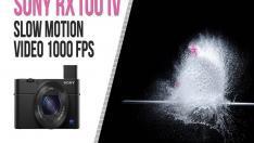 Sony'den 1000 FPS Kaydeden Sensör
