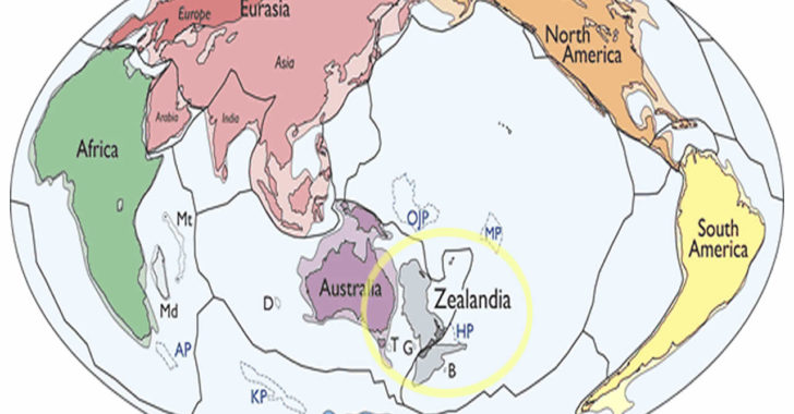 Dünyada artık 8 kıta var! Yeni kıtanın ismi: Zelendiya