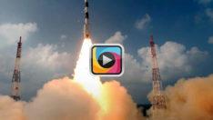 Hindistan 104 uyduyu taşıyan roketi uzaya fırlattı!