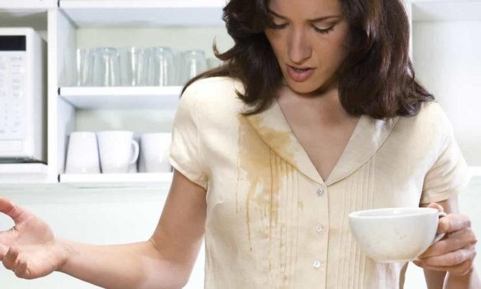 Kahve lekesini çıkarmanın kolay ve pratik yolları