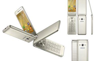 Samsung'un Kapaklı Telefonu Piyasaya Çıktı!